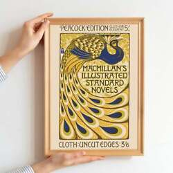 Peacock Poster Art Nouveau Picasso Exhi Printable Poster Best Gift For Friend