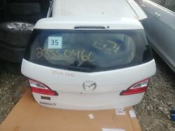Mazda 5  2015 Decklid /tailgate 638356 White Assembly 15 Lift Gate