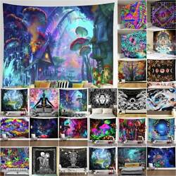 Hippie Trippy Psychedelic Tapestry Wall Hanging Home Art Decor New Blanket Room