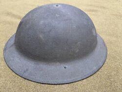 Nice Complete Clean Wwi Us Army Doughboy Steel Helmet Sand Finish And Liner Exc