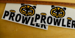 Prowler Vintage 60and039s-70and039s Travel Trailer Reproduction Canned Ham Decal Ur Choice