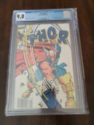 Thor 337 Newsstand Cgc 9.8 White Pages - 1st App Of Beta Ray Bill Rare