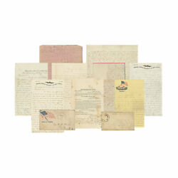 Archive Of Civil War Letters And Ephemera - Pvt Westel Hunt 7th Ohio And 5th Ohio