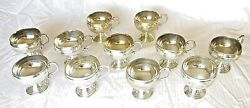 Liquor/punch Cups, Silver Plated, 11 Cup Set