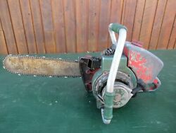 Vintage Homelite 707d Chainsaw Chain Saw With 16 Bar