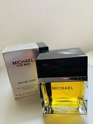 Vintage MICHAEL FOR MEN BY MICHAEL KORS EDT 2.5 Oz IN BOX AS SHOWN VERY RARE $95.00