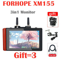 Forhope Xm155 5.5 3in1 Camera Dslr Monitor Wireless Video Transmitter Receiver