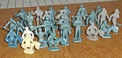 Lot Of 26 Vintage Marx 45/54mm Cape Canaveral Usaf Ground Crew Figures Vg