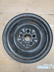 Ford Factory 14x5 Inch Steel Rim Wheel 1964-1966 Mustang Single Spare J17008