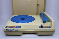 Fisher Price Record Player 33 And 45 Rpm Plus 13 Childrens Albums Stories And Songs