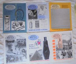 Antique Bottle And Glass Collector 8 Issues 1997 And Jan 98