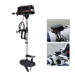 2200w 60v Electric Trolling Motor Brushless Outboard Engine For Fishing Boat Usa
