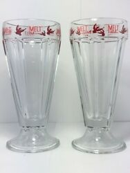 Rare Two Martin House Brewing X Melt Ice Cream Craft Beer Desert Glasses Texas