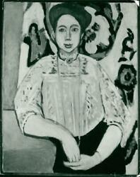 And039portrait Of Greta Molland039 By Henri Matisse In 1908 - Vintage Photograph 1260951