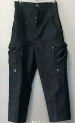 Rick Owens Saruel Jog Cargo Pants Black Cotton 18fw Menand039s Us 40 From Japan Used
