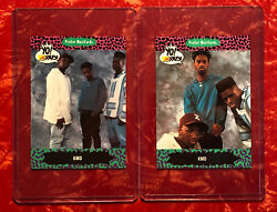Lot Of 2 Mf Doom Rookie Cards - Yo Mtv Raps Cards 124 And 125 Kmd