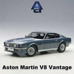 118 Scale Aston Martin V8 Vantage 1985 Diecast Model Car Collection By Autoart
