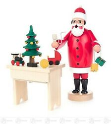 Smoking Man Santa Claus With Table And Music Game Factory Bxhxt 4 5/16inx8