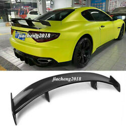Carbon Fiber Rear Gt Style Spoiler Wing For Maserati Gran Turismo Fit 4.2gt Gts