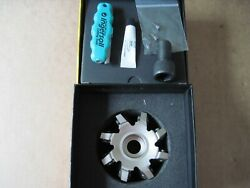 Ingersoll 4 Hi-feed Face Mill Indexable Gold Quad Milling Cutter 5g5m-40r01