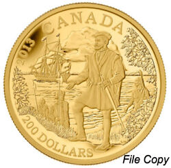 2013 Canada 200 Pure Gold Coin – Great Explorers Series – 2 Jacques