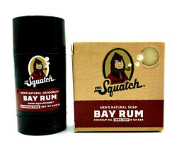 Dr Squatch Menandrsquos Deodorant And Soap Bay Rum... Great Gift Present