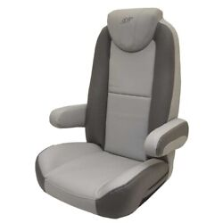Silver Wave Boat Captains Helm Seat 792179   Reclining Gray Charcoal
