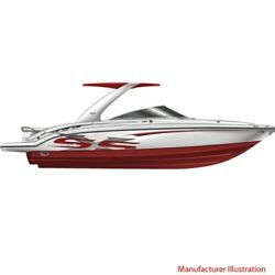 Chaparral Boat Hull Graphic 14.00393 | Ssx 236 Red 4 Pc Set