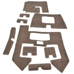 Sea Ark Outlaw 180 Taupe 9 Piece Boat Snap In Carpet Set