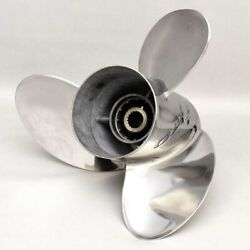 Yamaha Xto Boat Propeller 6gs-45976-00   Lh 16 3/8 X 21 P Stainless