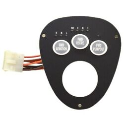 Tracker Boat Livewell Switch Panel 736-01160001   4 1/2 X 4 Inch Black