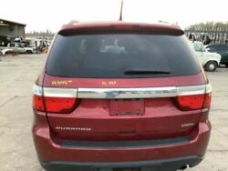 11 12 13 Durango Trunk/hatch/tailgate Privacy W/back Up Camera Red 3724214
