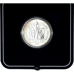 [820943] Italy 10 Euro Fifa World Cup - Germany 2006 Rome Ms Silver