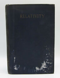 Relativity The Special And General Theory - First Edition Albert Einstein 1920