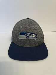 Youth Nfl Cap Hat Seattle Seahawks By New Era Adjustable