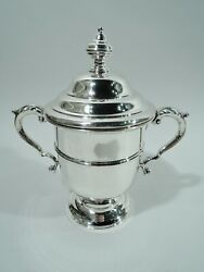 Redlich Trophy Cup - 9553 - Antique Classical Urn - American Sterling Silver