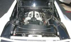 Fits Audi R8 Real Carbon Cover Motor Engine Lining Coupe