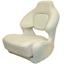 Chaparral Boat Captains Helm Seat 31.00752   H2o White Ice Blue