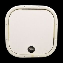 Bryant Boats 233 Cuddy Arctic White 16 1/2 Inch Polymer Boat Storage Sink Acess