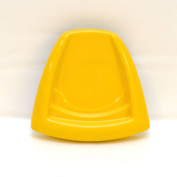 Crownline Yellow Colored Marine Plastic Boat Helm Seat Back Single