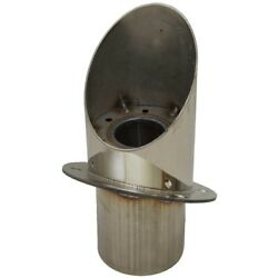 Malibu Boat Exhaust Tip 3221018   30 Degree 3 1/2 Inch 8.1l Stainless