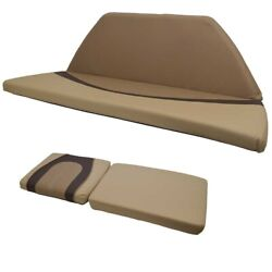 Lund Boat Bow Cushions 2156601 | Tan Brown Set Of 2