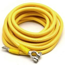 Pacer Boat Battery Cable E157097 | 20 Foot 2 Awg Yellow