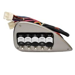 Crownline Boat Switch Panel 20997 | 265 Ss Silver