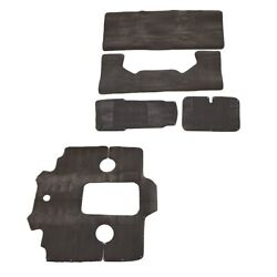 Bryant 246 Oem 5 Piece Stand Syntec Gray Boat Snap In Carpet / Carpeting Set