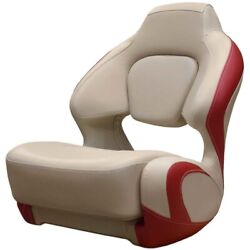 Chaparral Boat Captains Helm Seat 31.00536   H2o Beige Red