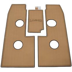 Lund Boat Non-skid Deck Mat 2237244   1800 Tyee 2017 Toffee 3pc