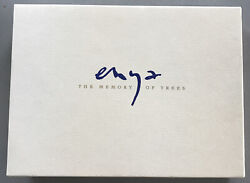 Signed Enya The Memory Of Trees Cd/cassette/book Box Set Limited 1001 Promo