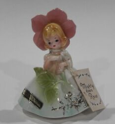 Rare Josef Originals Mighty Like A Rose With Labels And Hang Tag Favorite Sayings