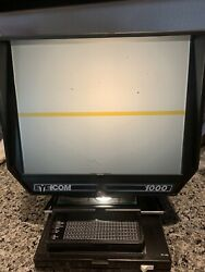 Vintage And039eyecom 1000and039 Microfiche Microslide Reader Viewer